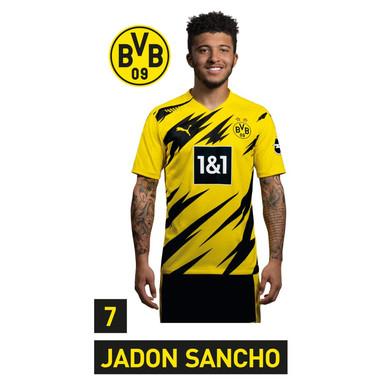 Wandsticker BVB Sancho Portrait 2020/2021