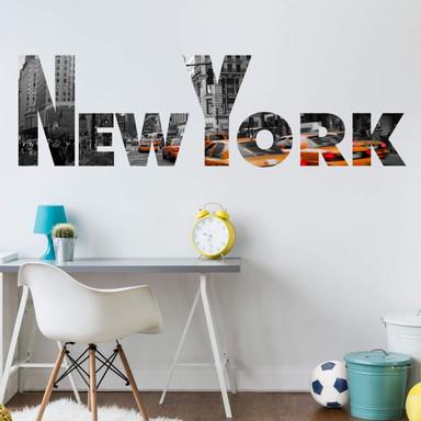 Wandsticker Impressionen New York