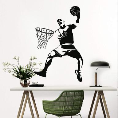 Basketball Wandtattoos Für Kinderzimmer Trenddekoch