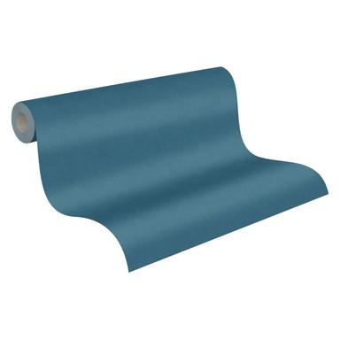 A.S. Création Vliestapete Pop Style Unitapete einfarbig, blau