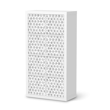 Klebefolie IKEA Expedit Regal 8 Türen - Mediana- Bild 1
