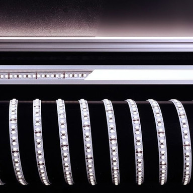 LED Stripe 3528-180-24V-6200K-5M in Weiss 4800lm
