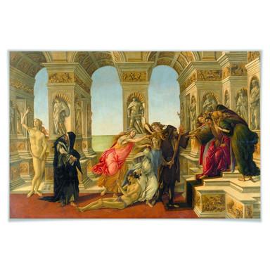 Poster Botticelli - Die Verleumdung des Apelles
