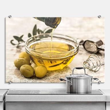 Spritzschutz Olivenöl