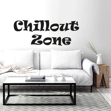 Wandtattoo Chillout Zone 1