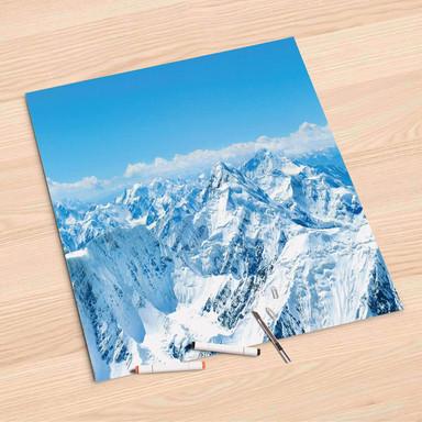 Folienbogen (60x60cm) - Himalaya