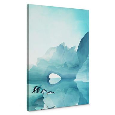 Leinwandbild Goed Blauw - Pinguine