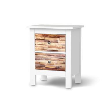 Möbelfolie IKEA Hemnes Kommode 2 Schubladen - Artwood