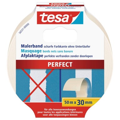 tesa® Malerband Perfect 50m x 30mm - Bild 1