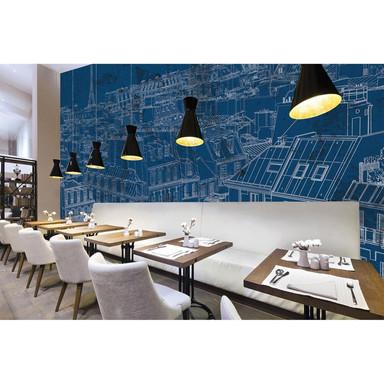 Architects Paper Fototapete Atelier 47 View of Paris Stadt - Bild 1