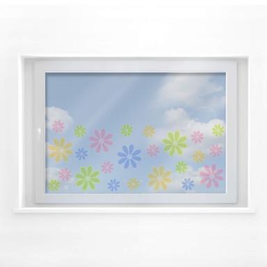 Fensterbild Sommerblüten