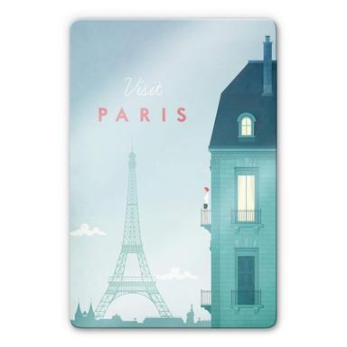Glasbild Rivers - Paris