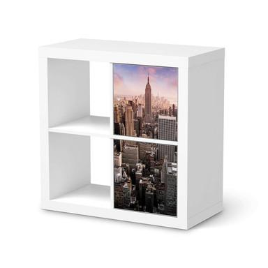 Klebefolie IKEA Expedit Regal 2 Türen (hoch) - Big Apple