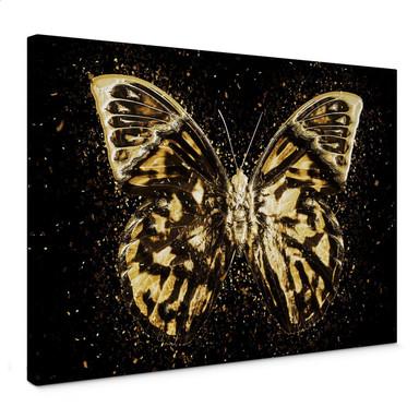 Leinwandbild Hugonnard - Goldener Schmetterling