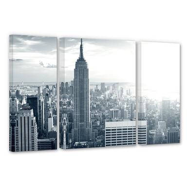 Leinwandbild The Empire State Building (3-teilig)