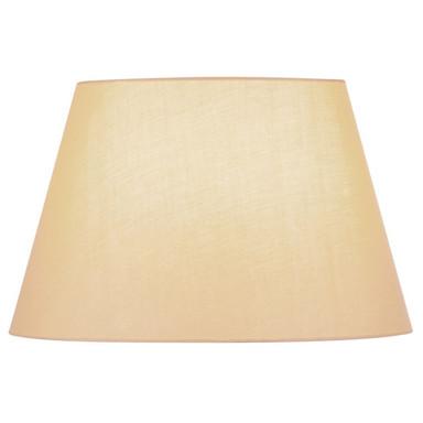 Leuchtenschirm Fenda, konisch, beige, 450 mm