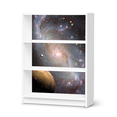 Möbelfolie IKEA Billy Regal 3 Fächer - Milky Way