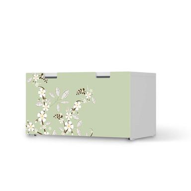 Möbelfolie IKEA Stuva / Malad Banktruhe - White Blossoms
