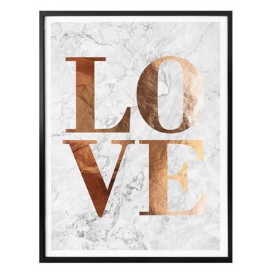 Poster Kupferoptik - Love 01