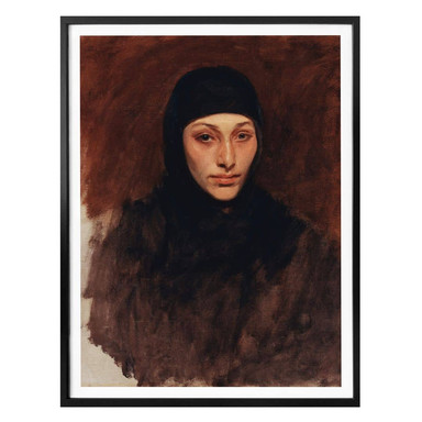 Poster Sargent - Ägyptische Frau