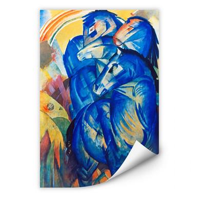 Wallprint Marc - Turm der blauen Pferde