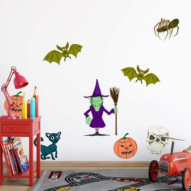 Wandsticker Halloween-Set 1