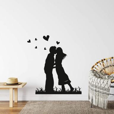 Wandtattoo Kissing 2