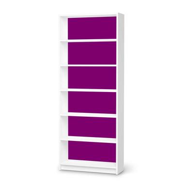 Klebefolie IKEA Billy Regal 6 Fächer - Flieder Dark- Bild 1
