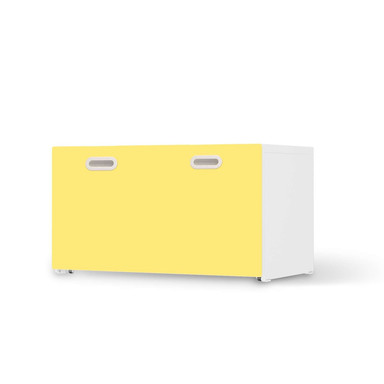 Möbelfolie IKEA Stuva / Fritids Bank mit Kasten - Gelb Light