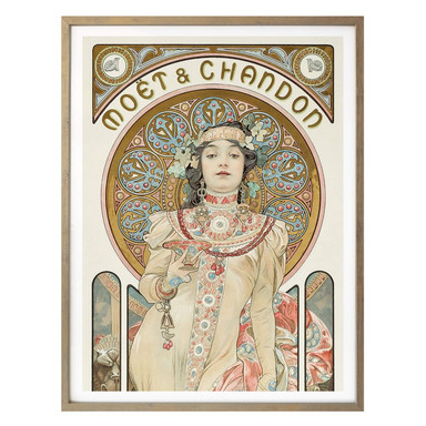 Poster Mucha - Moët and Chandon: Dry Imperial