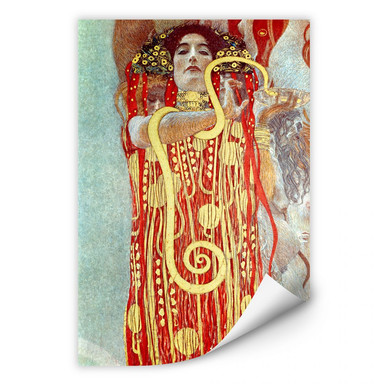 Wallprint Klimt - Hygieia