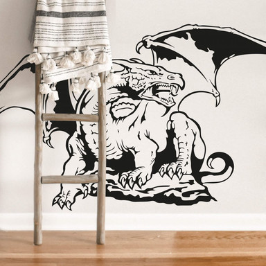 Wandtattoo Drachenmythos