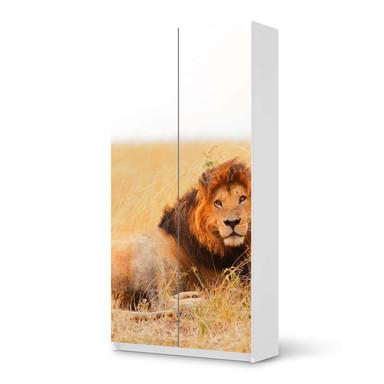 Klebefolie IKEA Pax Schrank 201cm Höhe - 2 Türen - Lion King