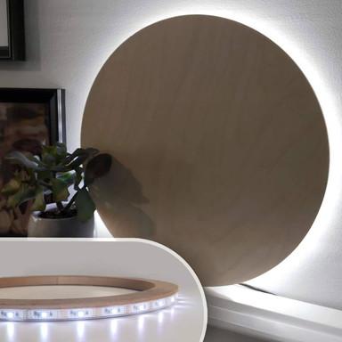 LED-Leuchtring für indirekte Beleuchtung Ø26cm