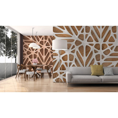 Livingwalls Fototapete Designwalls Organic Surface in 3D Optik - Bild 1
