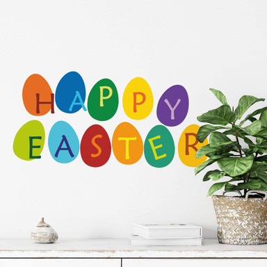Wandtattoo Happy Easter