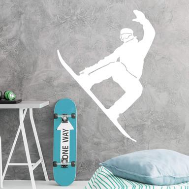 Wandtattoo Snowboarder 01
