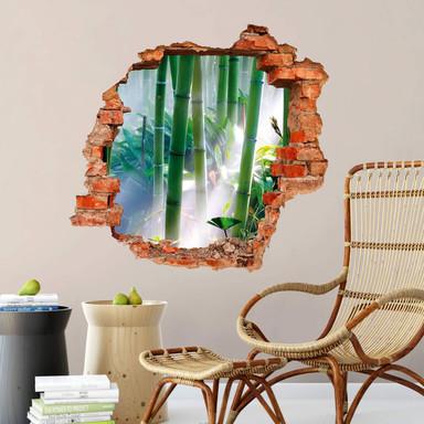 3D Wandtattoo Bamboo Forest