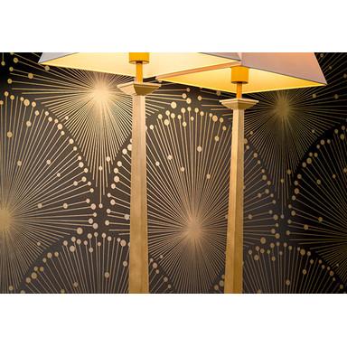 A.S. Création Vliestapete Spot 3 metallic, schwarz