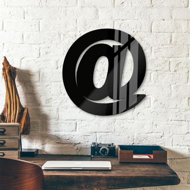 Acrylbuchstaben at-Zeichen