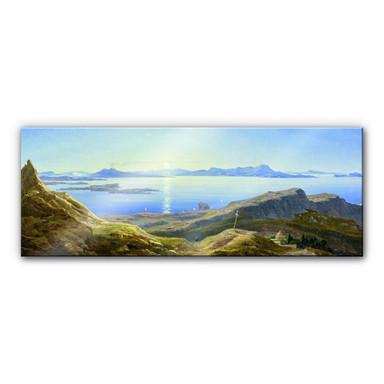 Acrylglasbild Ahlborn - Küstenlandschaft am Golf von Neapel