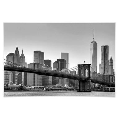 Giant Art® XXL-Poster New York - 175x115cm