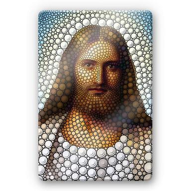 Glasbild Ben Heine - Circlism: Jesus Christus