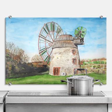 Küchenrückwand Toetzke - Holländerwindmühle
