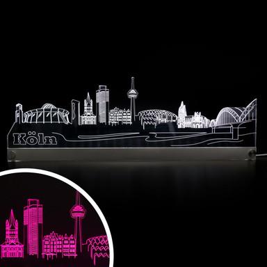 LED Skyline Köln - Bild 1