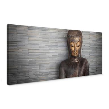 Leinwandbild Thailand Buddha - Panorama