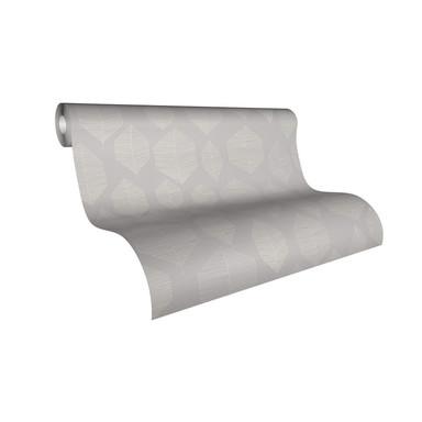 Livingwalls Vliestapete Colibri Tapete grafisch modern weiss, grau, beige