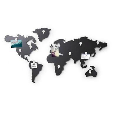 Magnetische Weltkarte Mappit Titanium - Bild 1