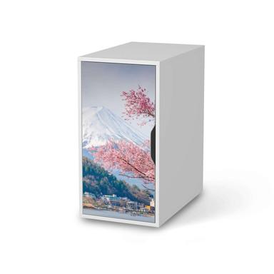 Möbelfolie IKEA Alex Schrank - Mount Fuji