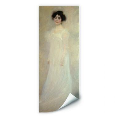 Wallprint Klimt - Bildnis: Serena Lederer